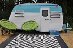 1969 Serro Scotty Camper Canned Ham Vintage Travel Trailer Camper