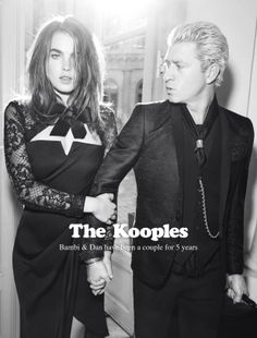 Bambi & Dan for The Kooples FW13 #thekooples #campaign