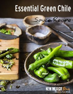 New Mexican Recipes - Green Chile Sauce