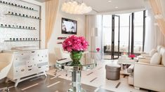 Nail Salon Beverly Hills | Manicure & Pedicure | Beverly Wilshire @ The Four Seasons ~Happy Hour at The (Nail) Bar: Starting September, book a manicure or pedicure Monday through Thursday from 1:00 pm to 4:00 pm and receive 15 percent off the treatment.