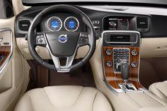 Volvo S60 interior.
