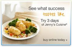 Jenny Craig, the no-brainer way to lose weight!