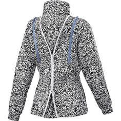 adidas by Stella -  Run bedruckte Performance Jacke, White / Black, pdp