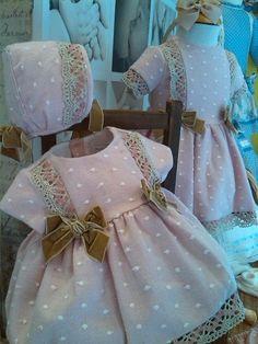Imagen no encontrada Children Dress, Girls Dresses, Flower Girl Dresses, Cool Outfits, Wedding Dresses, Clothes, Fashion, Layette, Baskets