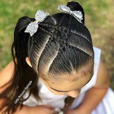 Dance Hairstyles, Princess Hairstyles, Teen Hairstyles, Pretty Hairstyles, Celebrity Hairstyles, Braid Styles For Girls, Hair Up Styles, Hair Style, Cute Little Girl Hairstyles