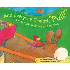 Great book to read with younger elementary students about pushing and pulling--science