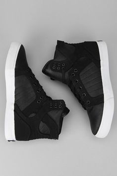 Supra Perforated Leather Skytop Sneaker