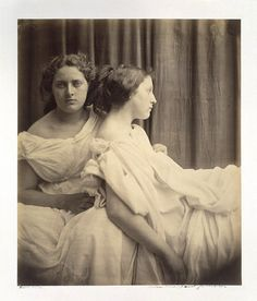 Julia Margaret Cameron, Version of Study after the Elgin Marbles, 1867 Albumen print from wet collodion glass negative