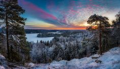 Photo by Lauri Lohi Beautiful sunrise at Aulanko Nature reserve, Hämeenlinna, Finland. New Wallpaper Hd, Wallpapers, Winter Scenery, Landscape Wallpaper, Beautiful Sunrise, Simply Beautiful, Beautiful Places, Fine Art Photo, Landscape Pictures