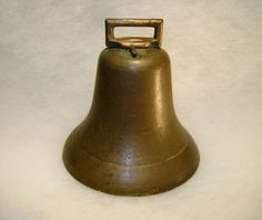 Round Goat or Cow Bell from Old Michigan Farm