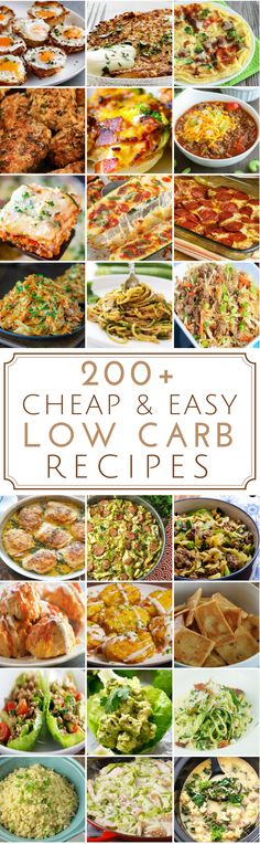 "Low carb recipes don't have to be expensive. Here is a list of budget-friendly low carb recipes for breakfast, lunch, dinner, snacks, desserts and more. Please keep in mind that this is a low carb list and not a no carb list. The term ""low"" is very subjective and everyone has a different definition of what ""low … … Continue reading →"