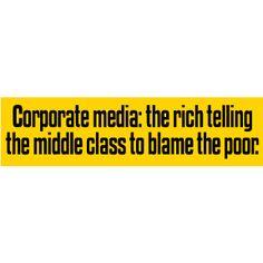 Corporate Media Bumper Sticker