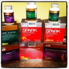 Advocare 24 Day Challenge!  I lost 12 pounds my first 24 days... and I've been able to keep off 30 pounds the last year and a half.  No joke.  This stuff changed my life.  -Jen Petersen