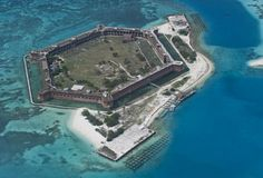 Dry Tortugas National Park, Florida. Eric and I went here on our Anniversary - Key West trip last year. So cool