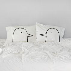 Love Birds Pillowcase Set