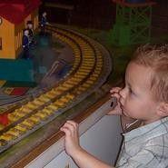 Model Train Village at Children's Museum at La Habra La Habra, CA #Kids #Events