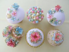 Vintage Cup Cakes - Cake by TraceyWheeler