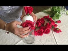 DIY Valentine's Centerpiece - YouTube
