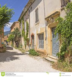 french-village-provence-france-street-34785082.jpg (1300×1390)