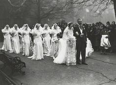 Nancy Beaton and Sir Hugh Houston Smiley wedding