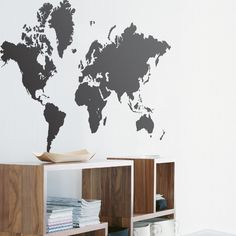 World map removable wallpaper studio space pinterest world map removable wallpaper studio space pinterest wallpaper apartments and spaces gumiabroncs Image collections
