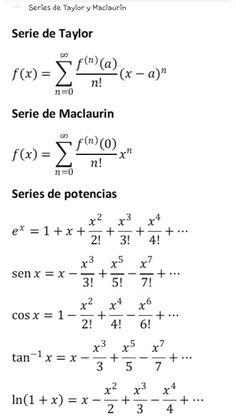 Geometry Formulas, Physics Formulas, Physics And Mathematics, Math Tutorials, Series Formula, Math Quotes, Chemistry Notes, Maths Solutions, Programming