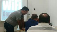 Hoy toca formación técnica interna... #WiFiCanarias siempre a la última  #Internet #telefono