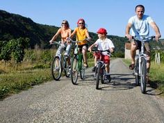 The beautiful 'véloroute' long-distance cycle routes
