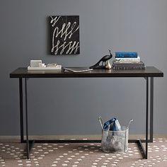 I love the Flat-Bar Desk on westelm.com  299.00