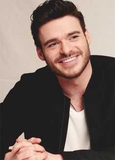 Richard Madden. He has one of those smile that lights up your face.