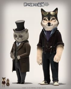 #Cat and #Wolf fight Crime !