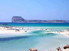 Balos Lagoon, Crete, Greece
