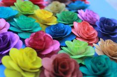 Wood Birch Flower  Choose your color by itsallaboutflower76, $18.00