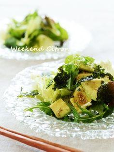 アボカドとレタスのチョレギサラダ|レシピブログ