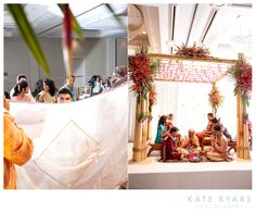 Maharastrian wedding : The groom across the Antarpadh