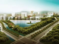 Xinjin Water City | MVRDV