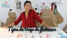 Tipos de traje de flamenca