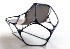 Parametric. Sculptural Chair.