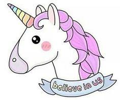 Immagini Di Unicorni Da Disegnare Kawaii