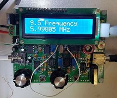 Easy to build, single-board design, 10 x all are controls board-mounted Professional quality double-sided, through-hole plated, silk-screen printed Ham Radio Kits, Android Radio, Analog Devices, Radio Usa, Qrp, Ham Radio Antenna, Digital Signal Processing, Circuit Projects, Arduino