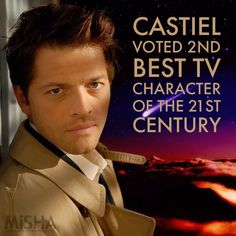 Castiel's Dreamer @Castieldreamer  Sep 27 Proud of our Angel   #Castiel voted in 2nd place at   http://www.digitalspy.com/tv/doctor-who/news/a809302/david-tennants-10th-doctor-who-is-voted-the-best-tv-character-of-the-21st-century-after-a-tense-battle/ …1) Twitter