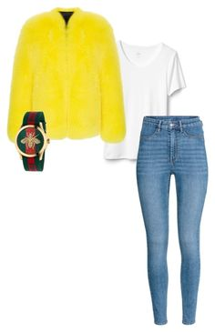 """""""Untitled #44"""" by nathali-777 on Polyvore featuring H&M and Gucci"""