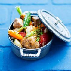 Découvrez la recette veau marengo sur cuisineactuelle.fr.