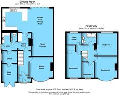 house extension - House Plans, Home Plan Designs, Floor Plans and Blueprints House Plans Uk, House Layout Plans, Garage House Plans, Floor Plan Layout, House Layouts, House Floor Plans, 1930s House Extension, Garage Extension, House Extension Plans