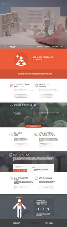 StopPain (More design inspiration at http://ift.tt/1ibpmIv) #design #web #webdesign #inspiration #sitedesign #responsive