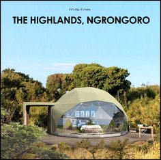 Coolest tents ever! Wildlife and Wild Tents: The Highlands Ngorongoro - if it's hip, it's here