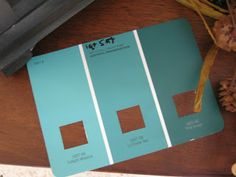 Teal for front door on red brick house | Mary Rose's Cafe: This End Up: The Art of Color