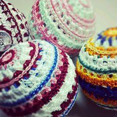 Crochet Christmas Ornaments #crochet #ornaments