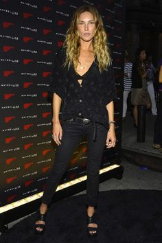 Erin Wasson, Fashion's Night Out aka flawless bitch remaining flawless