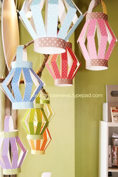 Im thinking of doing a festive beach theme for my daughter's birthday party because it would be such an easy theme and so much fun! i would want to try out these lanterns as decroations from trees